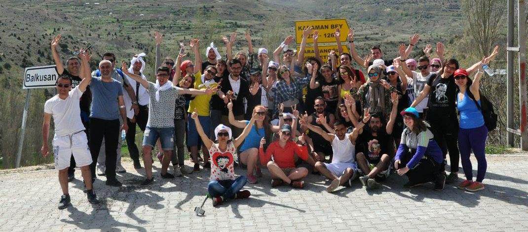 Avrupalı Gençler Ermenek'te