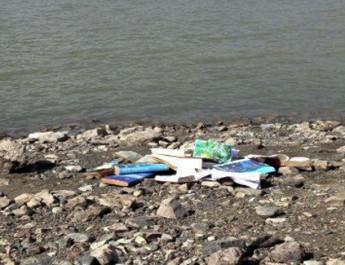 Baraj kıyısında FETÖ'ye ait CD ve kitaplar bulundu