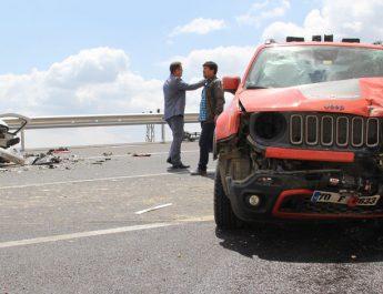 Ermenek'te trafik kazası: 1 ölü, 3 yaralı