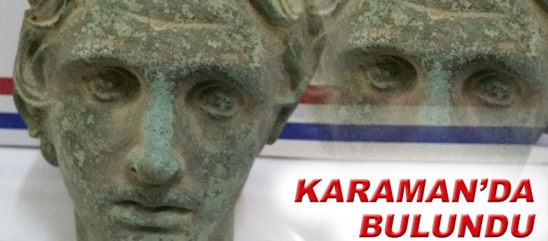 Karaman'da önemli tarihi eserler ele geçirildi