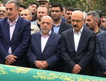 Hak-İş Genel Başkanı Arslan'ın babası defnedildi